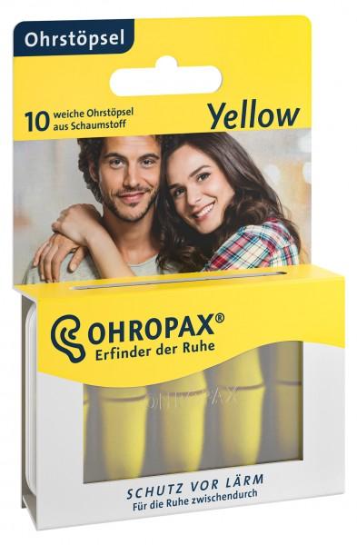 OHROPAX Yellow Earplugs