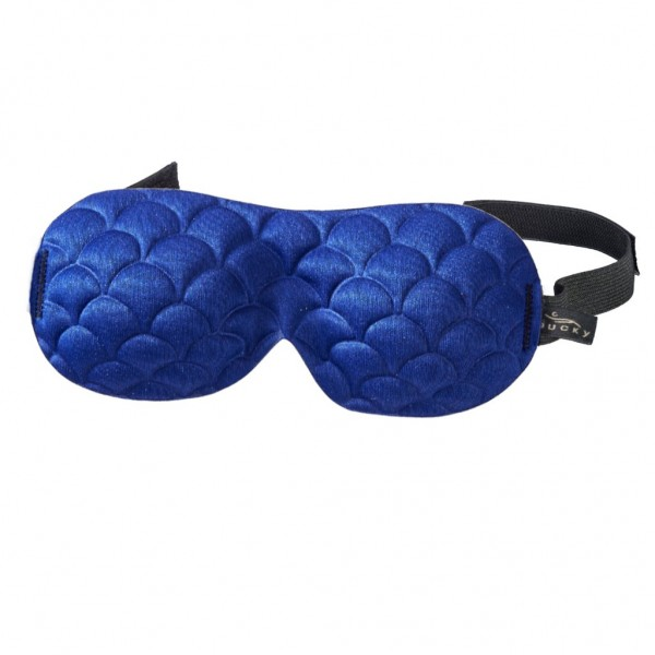 Bucky Ultralight Sleep Mask - Navy Scallop